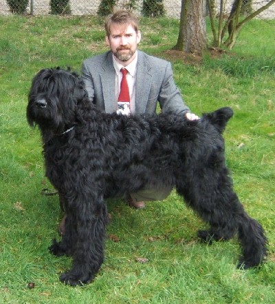 Black Russian Terrier breeder - About Pinnacle BRT ...